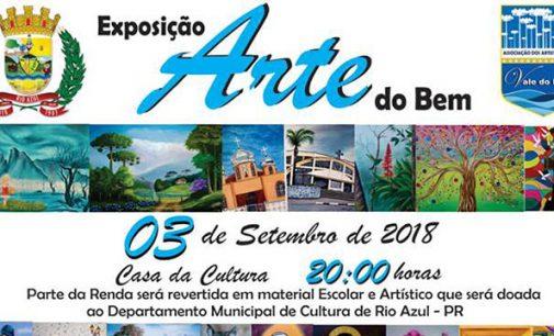 """Rio Azul receberá nesta segunda a exportação """"Arte do Bem"""""""