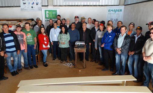 Agricultores de Cruz Machado inauguram novo secador