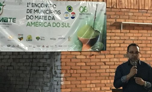 Bituruna marca presença no Encontro da Erva-Mate da América do Sul