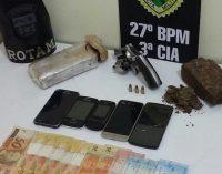 Casal é preso por tráfico de drogas em São Mateus do Sul