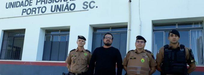 Comando 27ª BPM visita a UPA de Porto União