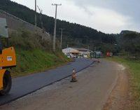 Inicia a recuperação da PR 170 entre Bituruna e a BR 153