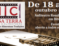 Mostra Internacional de Cinema em Bituruna nos dias 18 e 21 de outubro