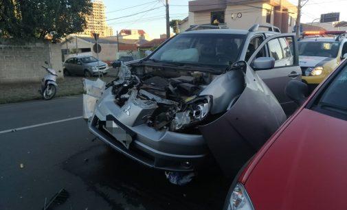 PM registra mais um acidente no centro de UVA