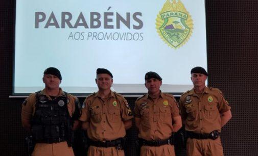 Quatro militares do 27º BPM são promovidos a Cabo