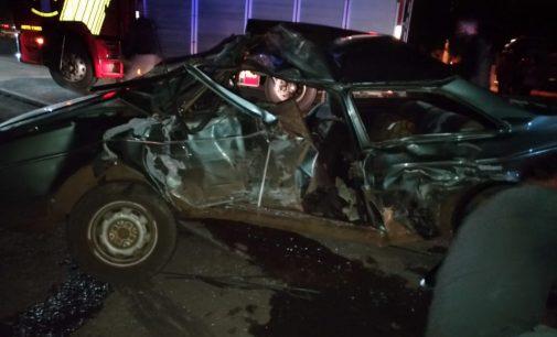 Uma pessoa fica ferida em acidente na BR 476 em União da Vitória