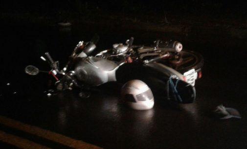 PM de Uva atende acidente de trânsito com motociclista