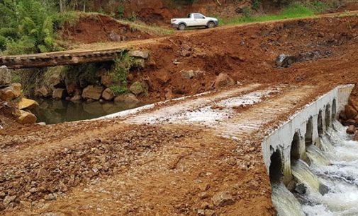 11ª nova ponte é finalizada no interior de Bituruna