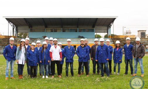 Acadêmicos de Engenharia Civil realizam visita técnica em obras de União da Vitória