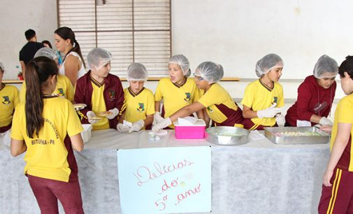 """Alunos de Bituruna promovem """"Feiras do Jovem Empreendedor"""""""