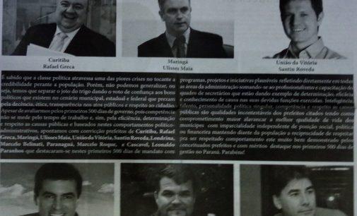 """Jornal """"Estado"""" coloca gestão de UVA entre as seis melhores do Paraná"""
