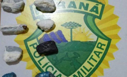 Homem é preso por porte de drogas em União da Vitória