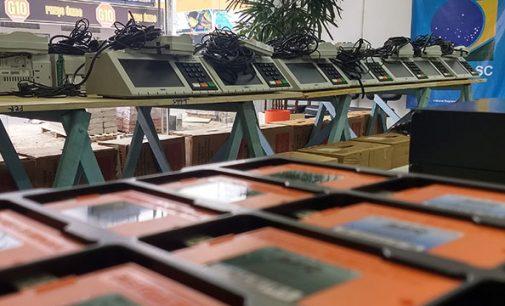 Justiça Eleitoral de PU organiza urnas eletrônicas para 2º turno