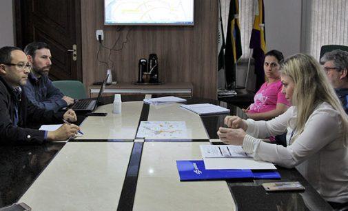Prefeitura de Bituruna com Sanepar tratam sobre rede de esgoto