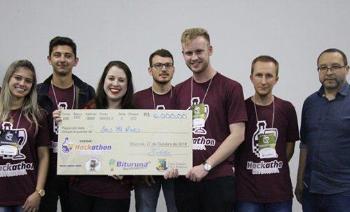 Projeto de banco virtual ganha premiação do Hackathon