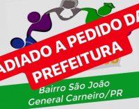 """Projeto """"Amigos do Povo"""" é adiado em General Carneiro devido à chuva"""