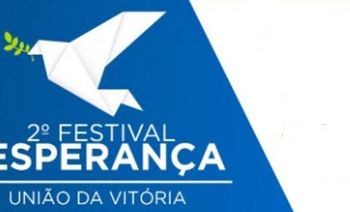 2º Festival Esperança será realizado domingo em União da Vitória