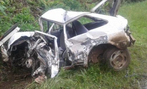 Acidente na BR 280 em Irineópolis deixa duas pessoas feridas