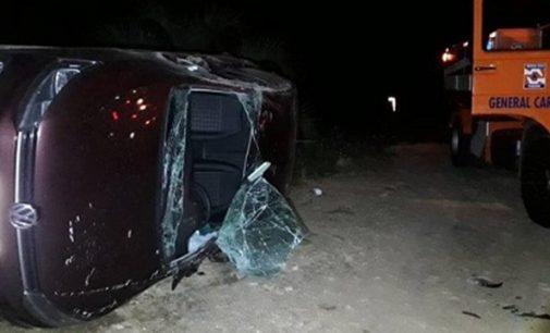 Acidente na PR 170 deixa três pessoas feridas