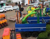 Bituruna recebe R$ 600 mil em implementos agrícolas
