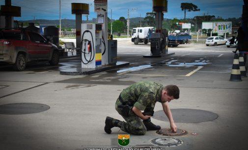 """Policia Ambiental faz """"Operação Combustível"""" em SC"""