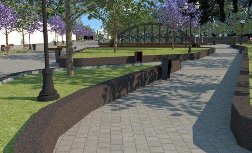 Revitalização da praça Coronel Amazonas é iniciada