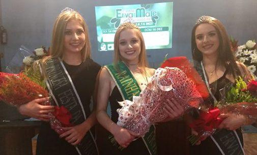 Stefanie Fialek é eleita Rainha da 7ª Festa da Erva-Mate de Cruz Machado