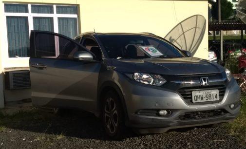 PM de Porto União recupera veículo roubado em Porto Alegre