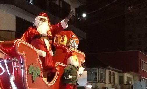 Papai Noel da CDL chega dia 30 em Porto União da Vitória