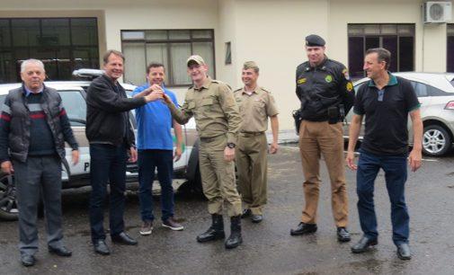 Polícia Militar de Porto União recebe nova viatura