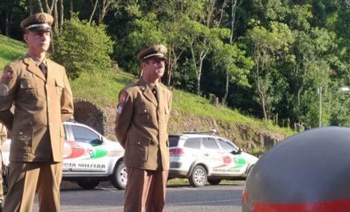 Policiais militares da 1ª Cia são promovidos