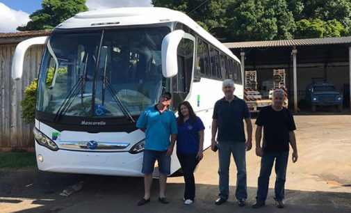 Porto Vitória recebe ônibus novo para Educação e Esporte