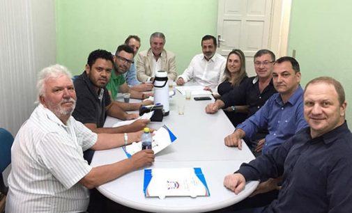 Prefeito em exercício, Bachir Abbas se reúne com vereadores