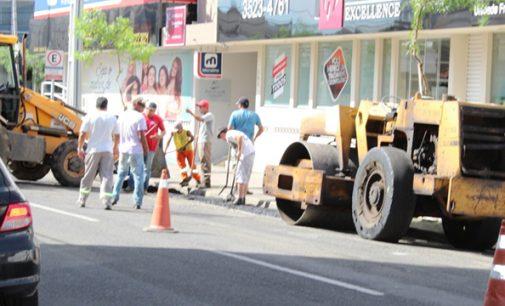 Setor de Obras de União da Vitória recupera diversas ruas