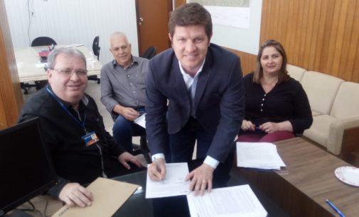 União da Vitória celebra convênio com CEF para projeto Paralímpico