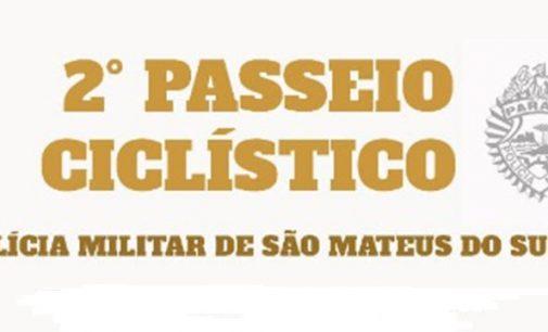 Vem ai o 2º Passeio Ciclístico da PM de São Mateus do Sul