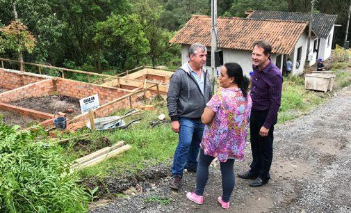 Retomada as obras do bairro São Bernardo do Campo