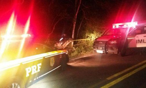 PRF confirma seis óbitos em acidente na BR 153 em Rebouças