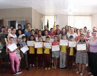 Bituruna premia alunos do Projeto Viagem da Leitura