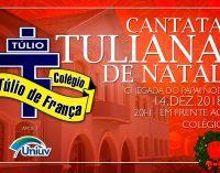 """Colégio Túlio de França fará """"Cantata de Natal"""", dia 14"""