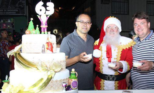 Festa na praça marca os 63 anos de Bituruna