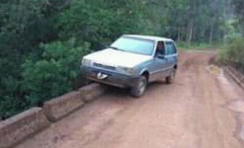 Fiat Uno furtado é localizado no interior de General Carneiro