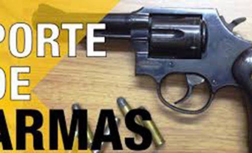 Homem é detido por porte de arma de fogo em Bituruna