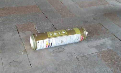 PM de Porto União detém pichadores na Estação União