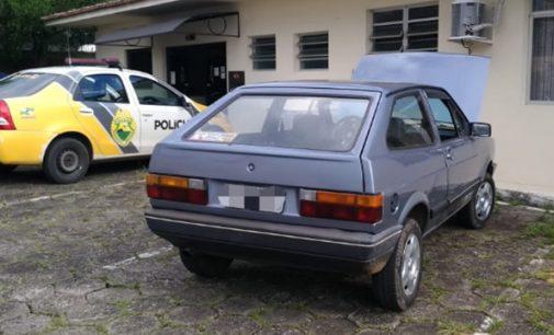 PM recupera veículo furtado em União da Vitória