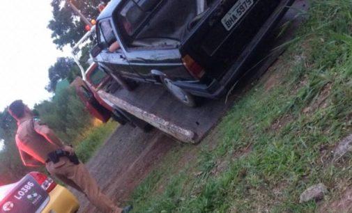 PM recupera veículo furtado no final de semana