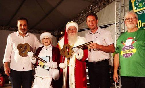 Papai Noel da CDL já está em Porto União da Vitória