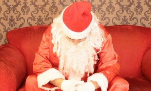Papai Noel tem roupas furtadas em União da Vitória