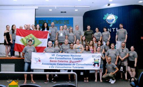 Porto União participa do VII Congresso Nacional de Conselheiros Tutelares
