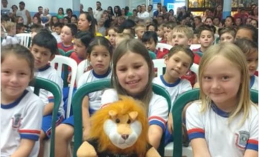 Proerd Kids entrega certificados em União da Vitória